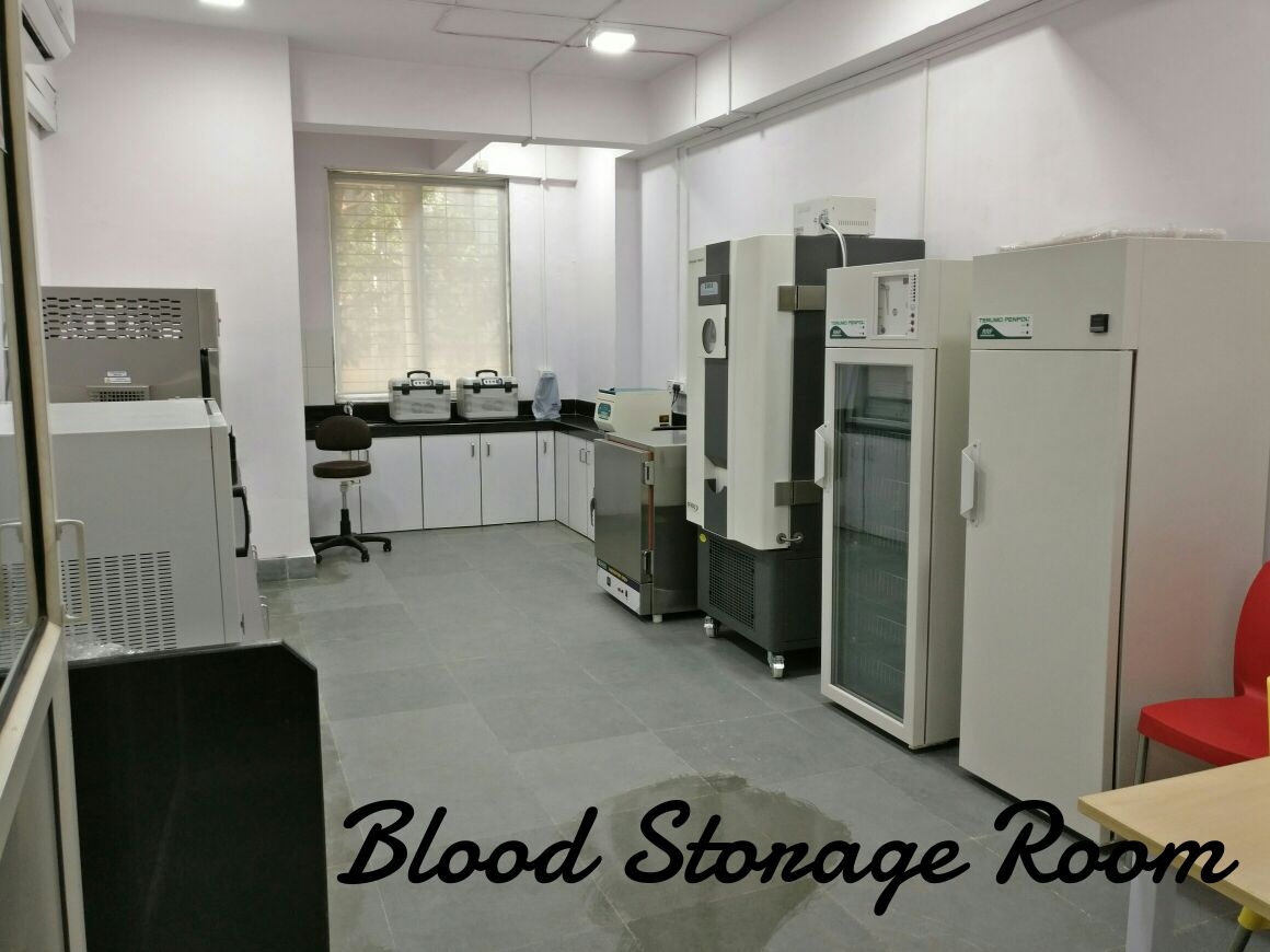 Blood Storage Centre